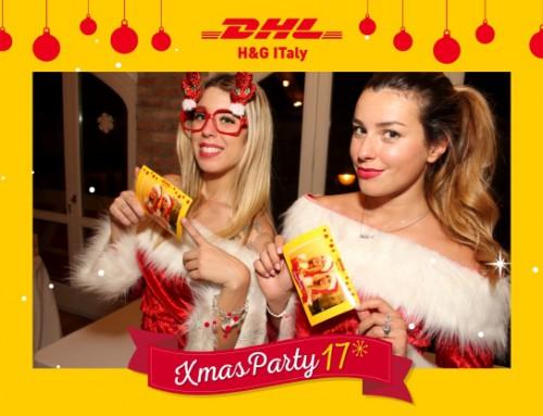 XMAS PARTY DHL con FOTO MOSAIC